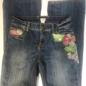 Cache petal bling jeans
